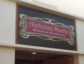 Alphonse Mucha exhibit at Museum of the Shenandoah Valley