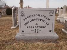Ouija Board patentee gravestone