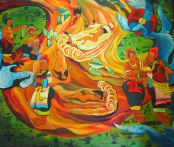 Painting in Wangu Pavilion