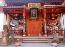 Temple in Shaxi's square