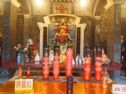 in the temple