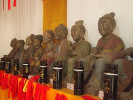 wise figures at Sanpo Temple
