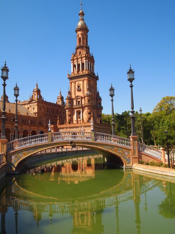 Andaluc Morning In Seville Plaza De Espa Hotel