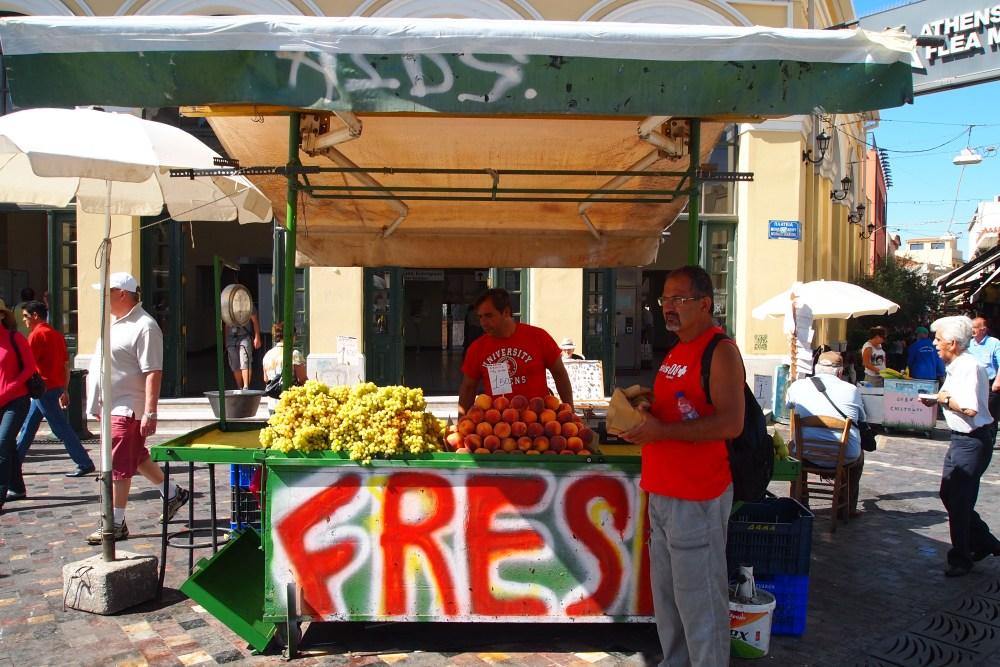 modern and ancient markets: monastiraki flea market & the ancient agora (5/6)