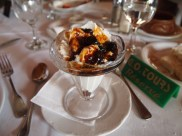 Greek yogurt with fig preserves