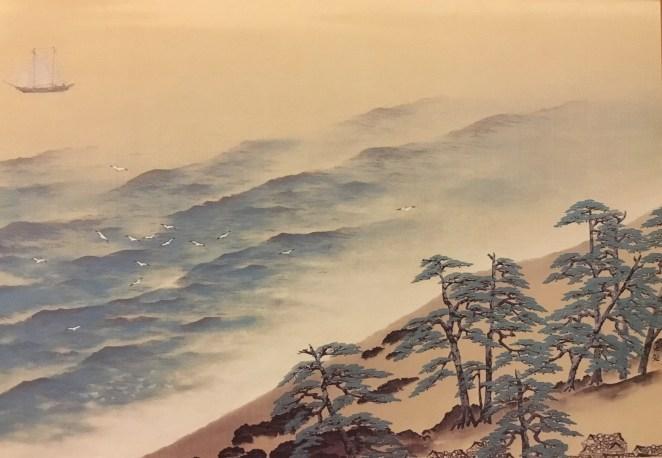 postcard of Taikan Yokoyama's art