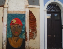 Street art in Old San Juan