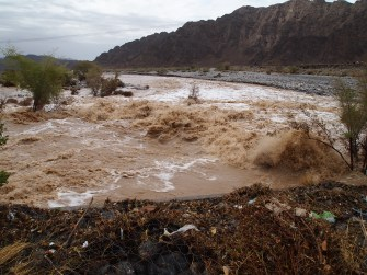 wadi floods in Oman