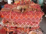 textiles at the Iranian souq