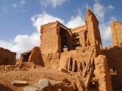 Ruins in Al Hamra, Oman