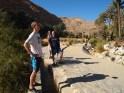 Adam, Mike and Alex along the falaj