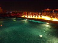 the pool on the terrace