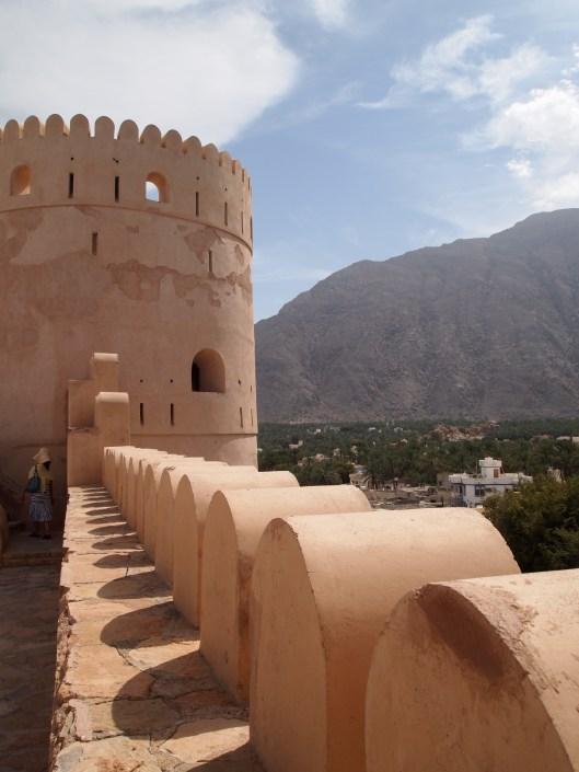 the rustaq loop nakhal fort  ain athawwarah hot springs
