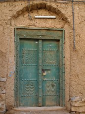 entrance to a house in Al Hamra