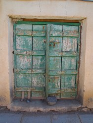 door in Ibra, Oman