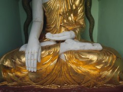 Buddhas hands and feet