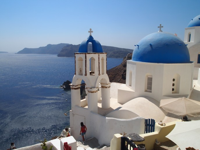 Greek Orthodoxy in Santorini, Greece