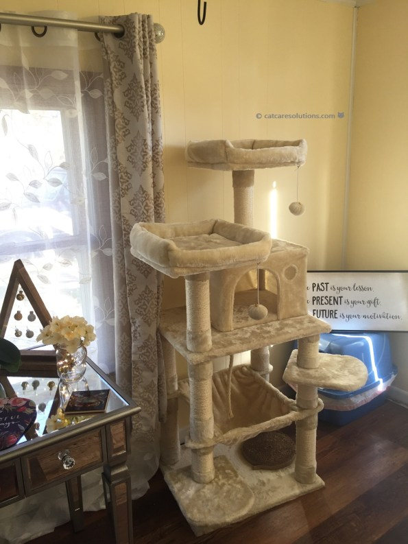 pawscoo cat tree reviews