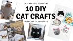 10 Cat Crafts For Adults That Kids Will Love Too