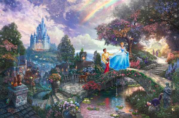 Thomas Kinkade Cinderella