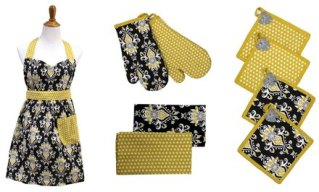 9-Piece Apron Set $9.99