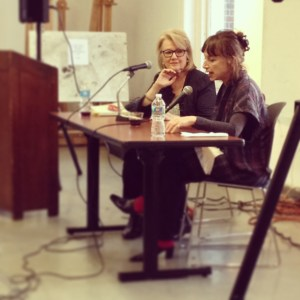 Judith Thurman in conversation with Lis Harris at Columbia's Graduate Writing Program's Nonfiction Dialogue on Wednesday, April 16, 2014.