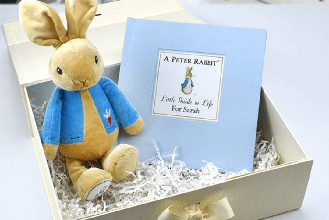 Peter Rabbit Personalised Book and Toy Gift Set GIVEAWAY