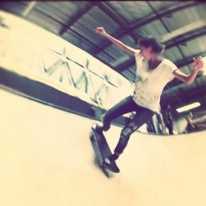 Skateboard.....check!