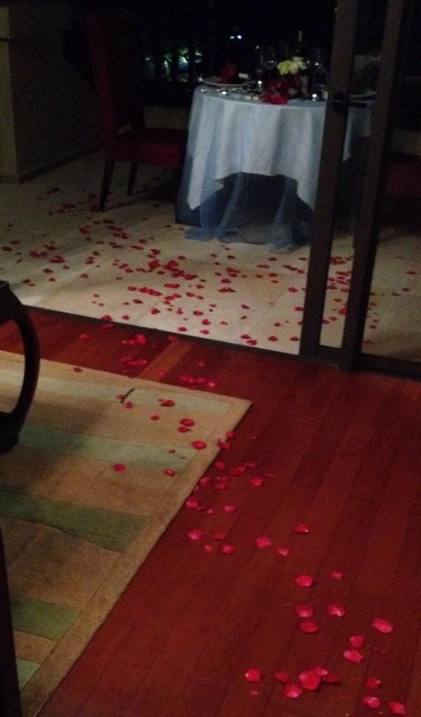 The Ritz-Carlton Sanya China roses