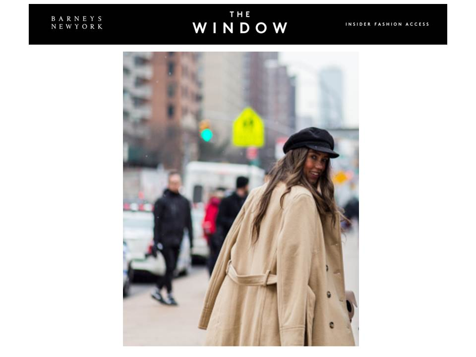 Barney's New York Thania Peck Fashion Blogger