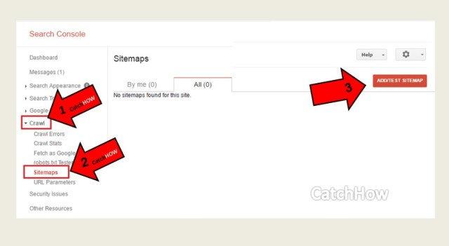 submit sitemap search console