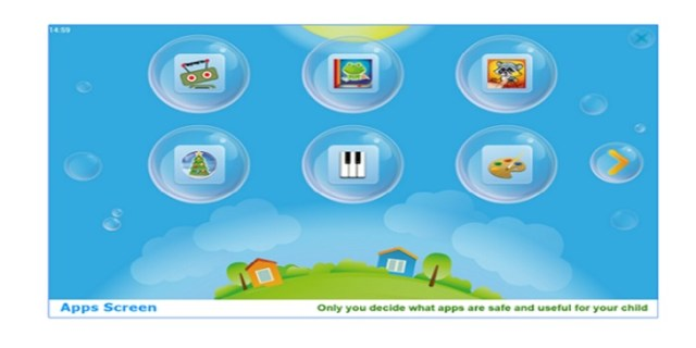 kids world parental android apps