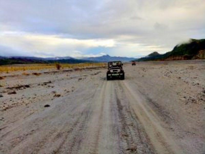 Mount Pinatubo 4x4 ride