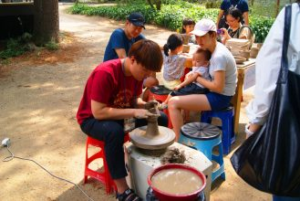 Clay pot making