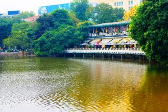 Hoan Kiem Lake - Tour Hanoi Vietnam | Catching Carla