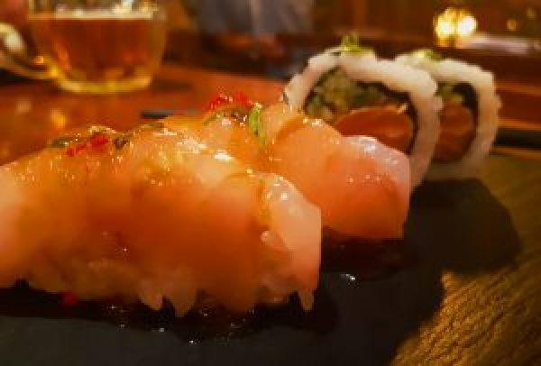 Miso Salmon   Nikkei Rockwell Restaurant - catchingcarla.com