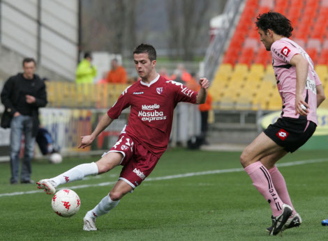 Proving ground: Pjanic in action for first club Metz