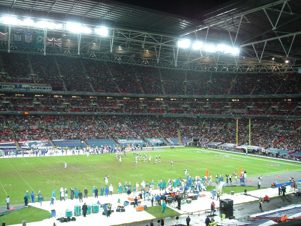 Full house: The UK appetite for American football does not appear to be fading