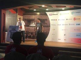 Nilambar Sharma sharing his contribution to WordPress