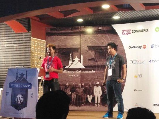 Shiva Shanker Bhattar sharing his WordPress contribution