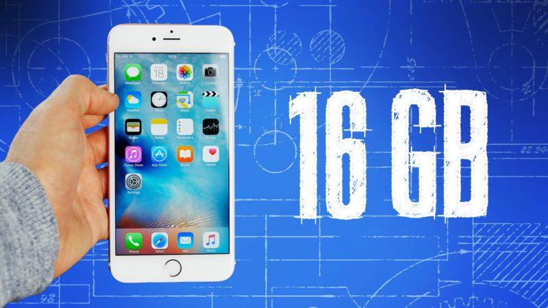 16GB iPhone 6S/6S Plus