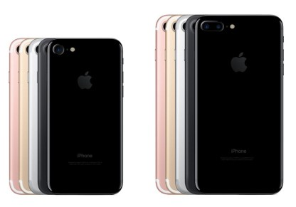 iPhone 7 and 7 Plus: Color Variations. Image Credit: The Next Web