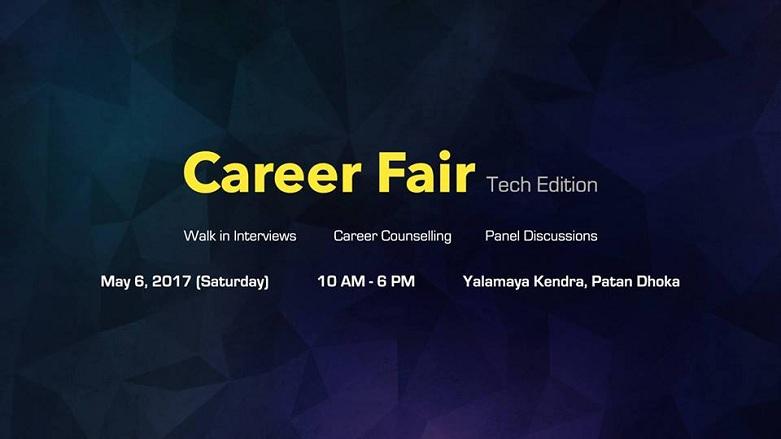 Career Fair 2017 - Tech Edition Banner