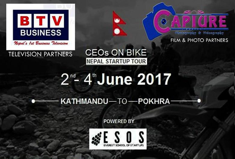 CEOs on Bike: Nepal Startup Tour