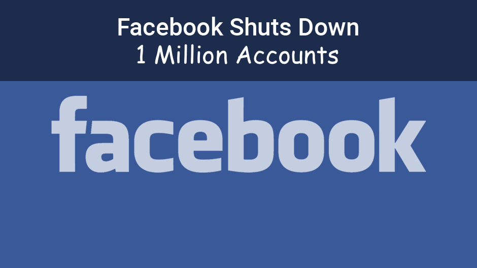 Facebook Shuts Down 1 Million Accounts Per Day. Image Source: PensionDanmark
