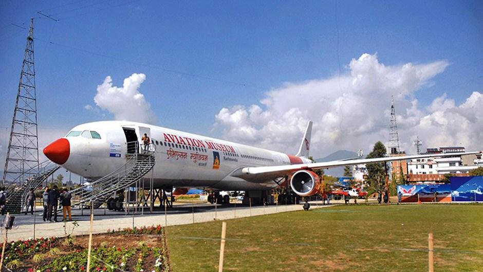 First Aviation Museum in Kathmandu. Image Source: The Kathmandu Post