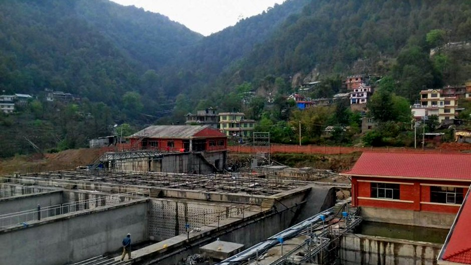 Water Disinfection Test Completed in Melamchi Project. Image Source: The Himalayan Times