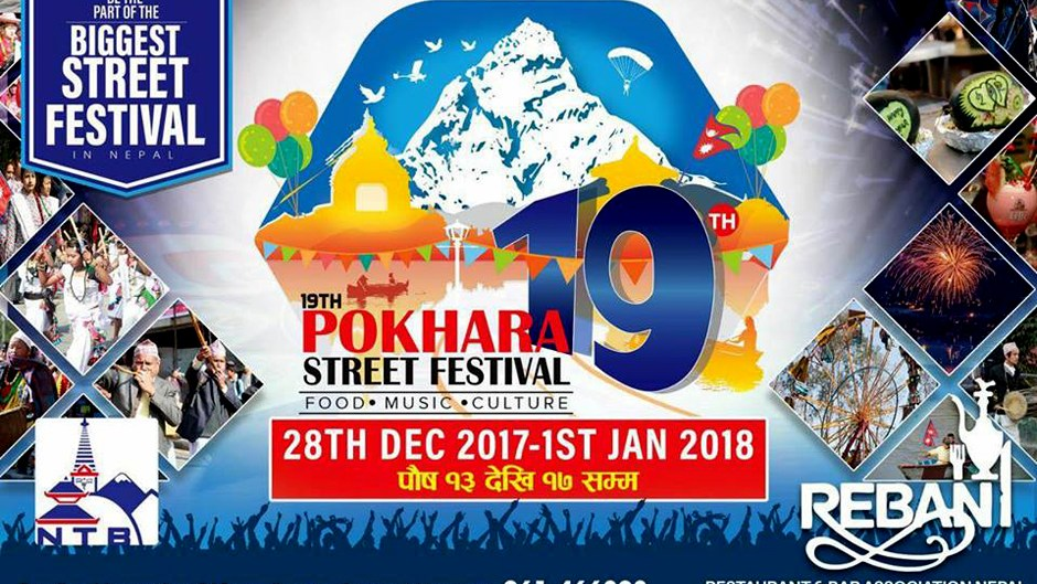 Pokhara Street Festival—New Year 2018. Image Source: Facebook
