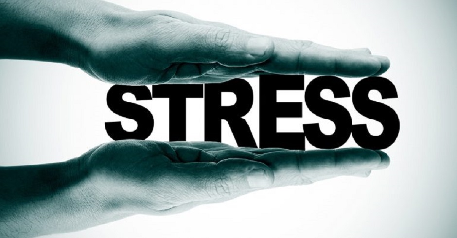 Stress leads to Weight Gain. Image Source: CureJoy