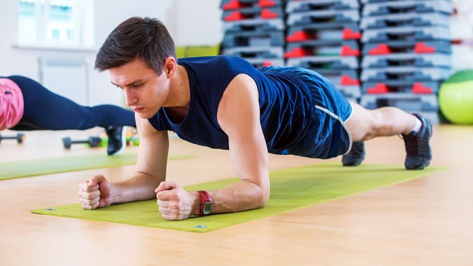 Doing Planks Daily. Image Source: ISU Extension and Outreach Blogs - Iowa State University